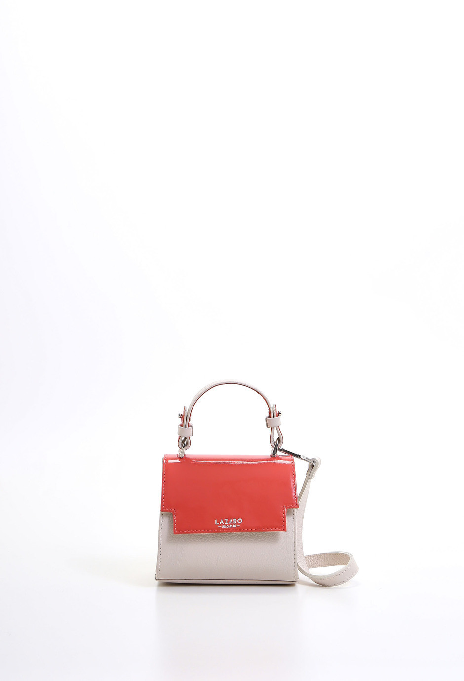 Lazaro Nano Bag Rivera natural/coral