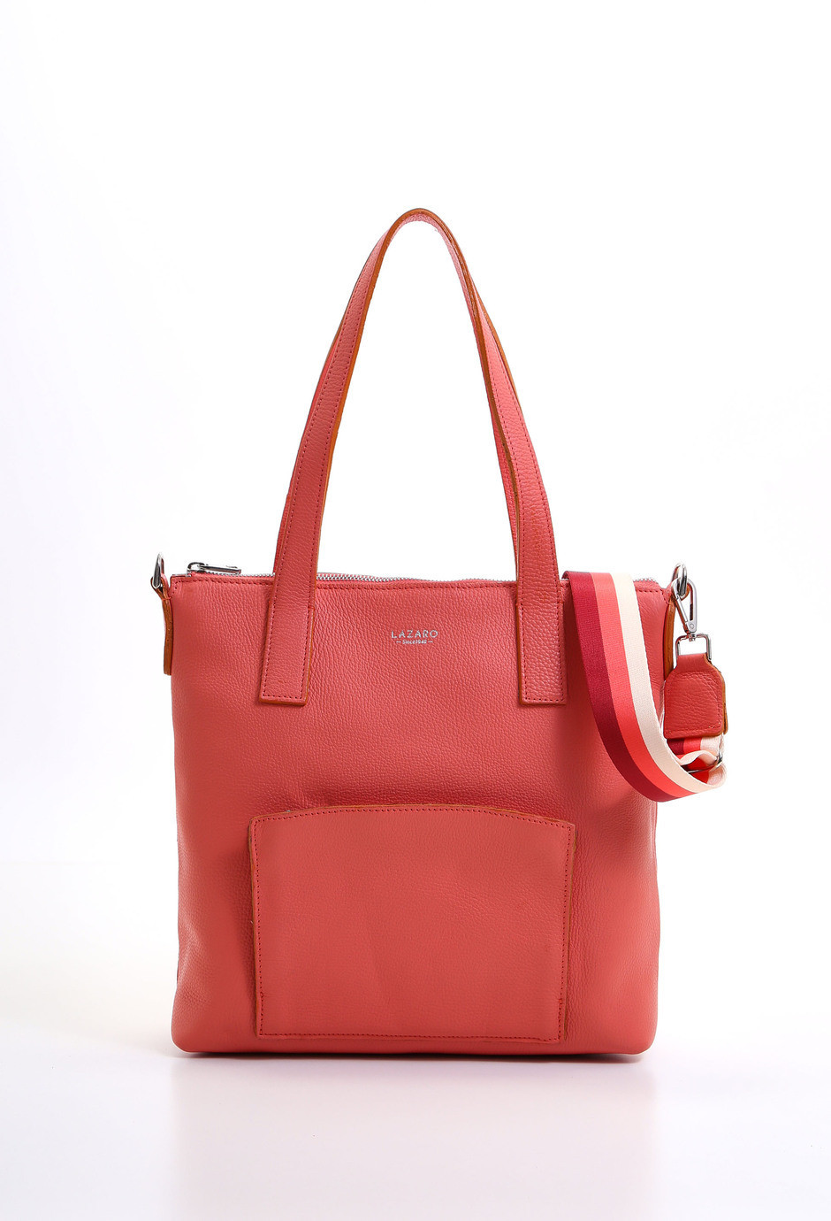 Lazaro Shopper Nogal coral