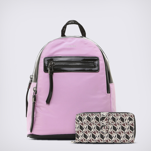 True Match 8 - Mochila New York Pink & Fichero Monogram
